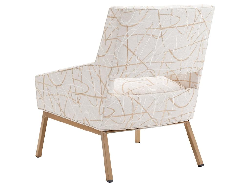 Lexington KitanoAmani Chair w/ Brass Base