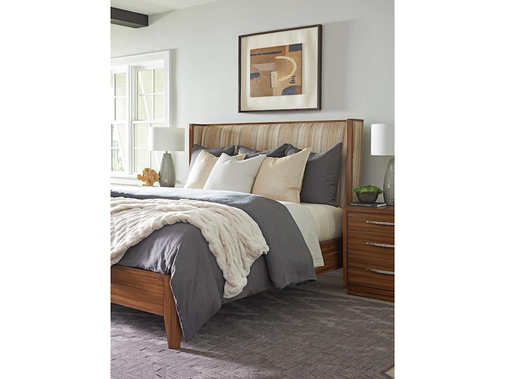 Lexington KitanoMirah Custom Upholstered Bed 5/0 Queen