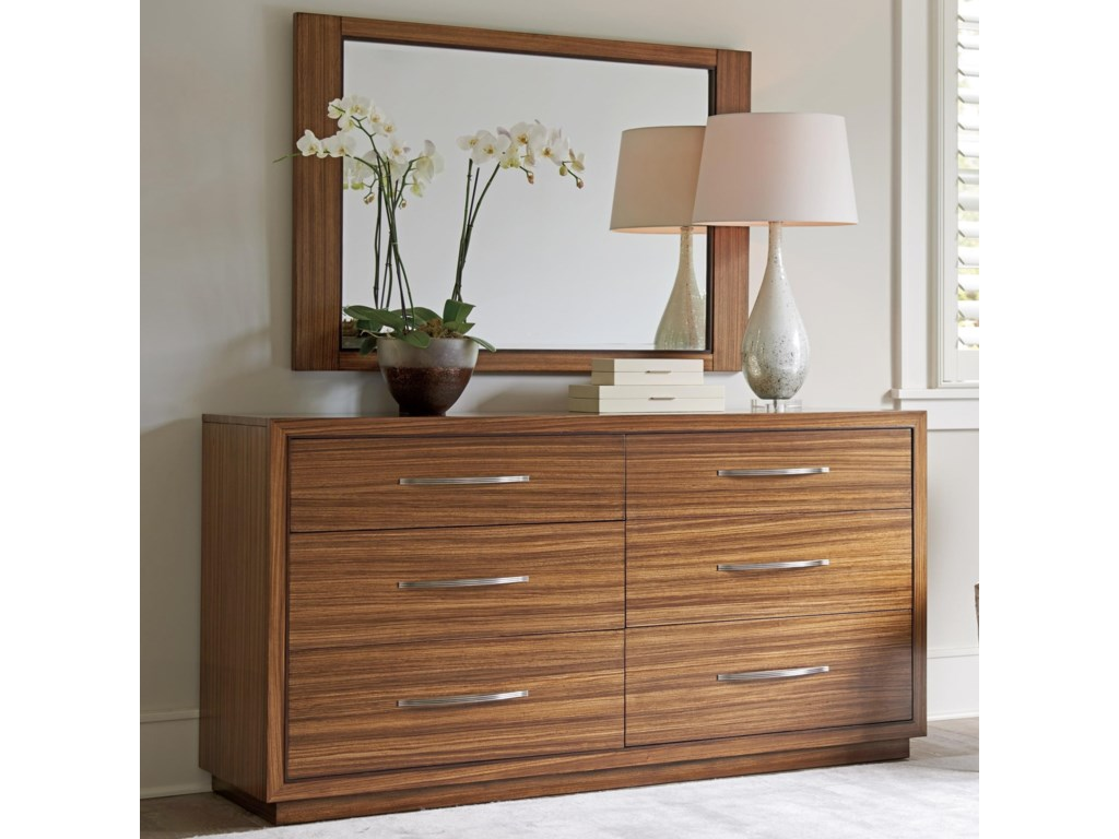 Lexington KitanoDresser + Mirror Set