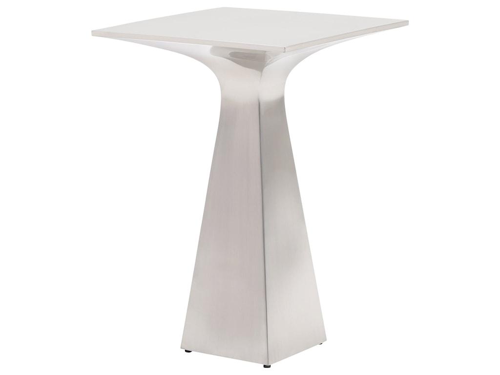 Lexington KitanoSato Stainless Accent Table