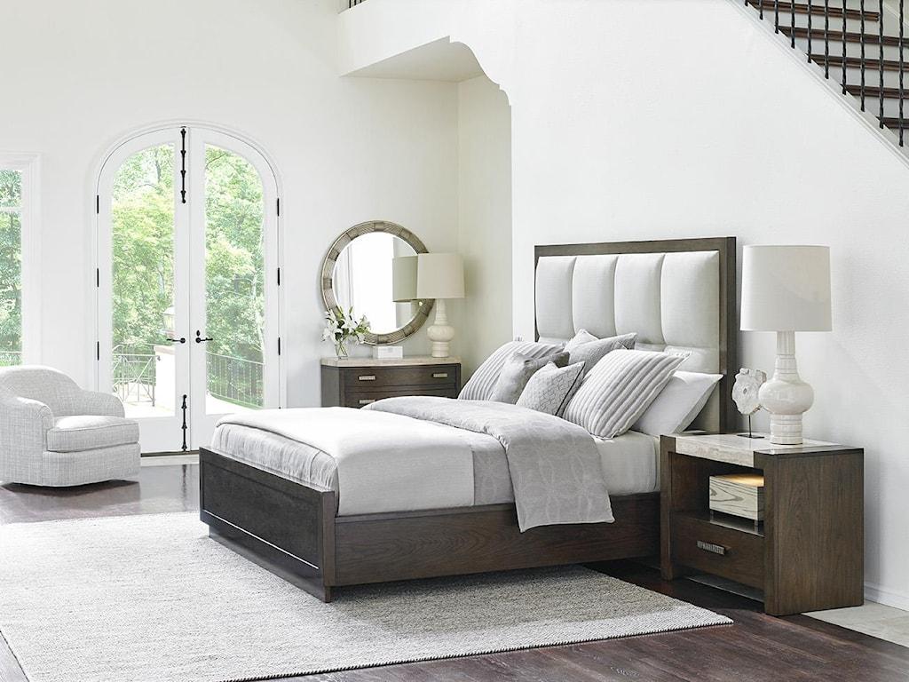 Lexington LAUREL CANYONCasa del Mar Upholstered Bed, 6/6 King