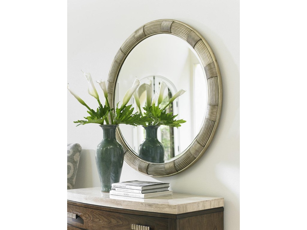 Lexington LAUREL CANYONRadcliffe Dresser and Beverly Mirror Set