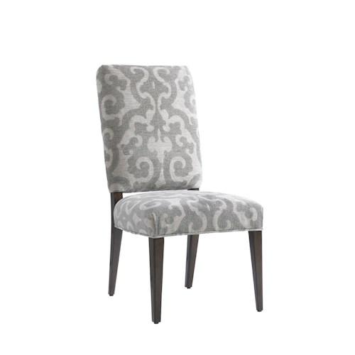 Lexington LAUREL CANYON Sierra Dining Side Chair Upholstered in Special Order Fabric