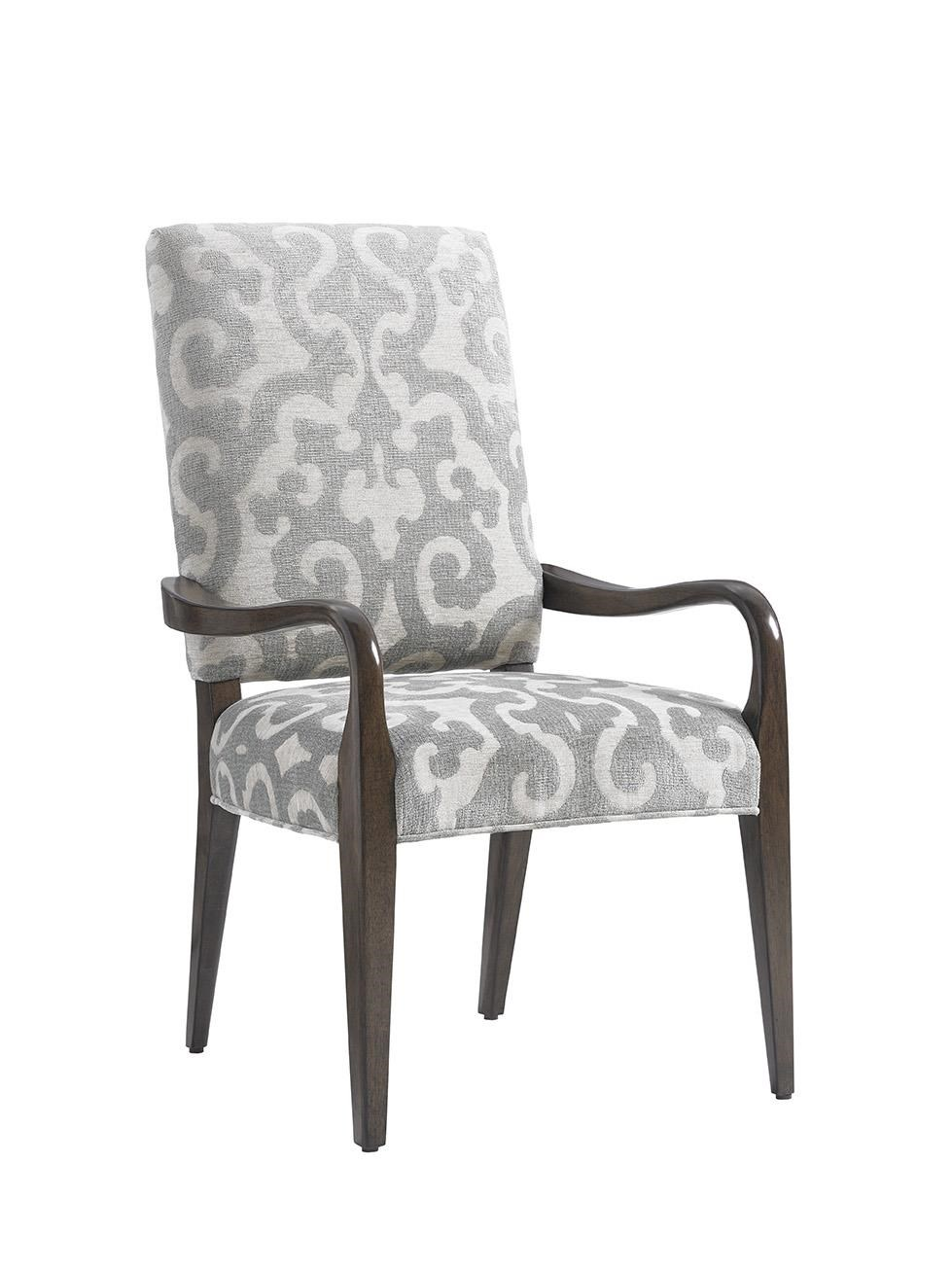 Sierra Dining Arm Chair Upholstered in Special Order Fabric