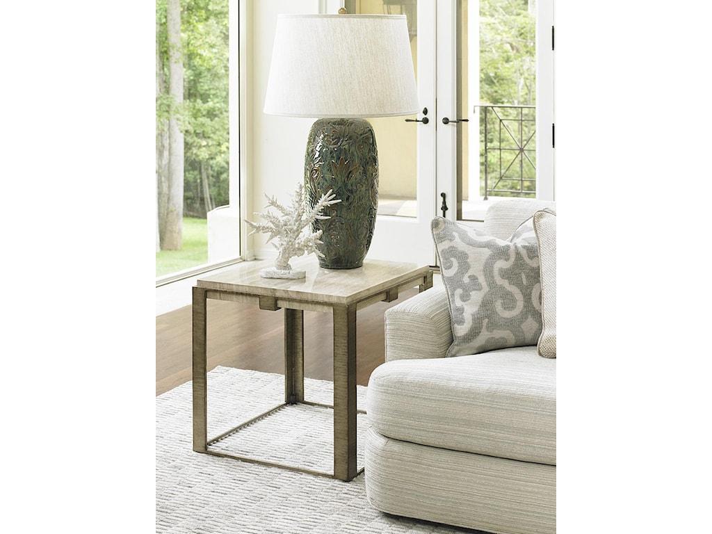 Lexington LAUREL CANYONStone Canyon Lamp Table