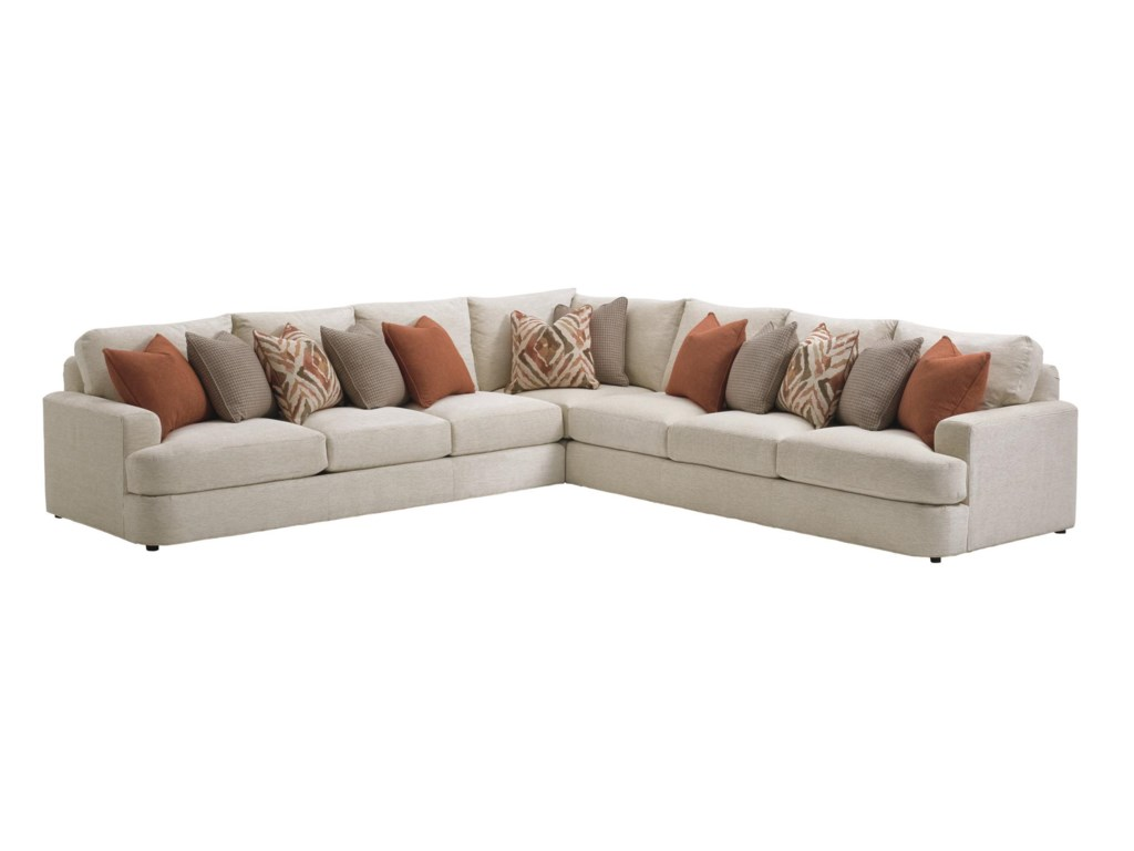 Lexington Laurel Canyonhalandale Sectional Sofa