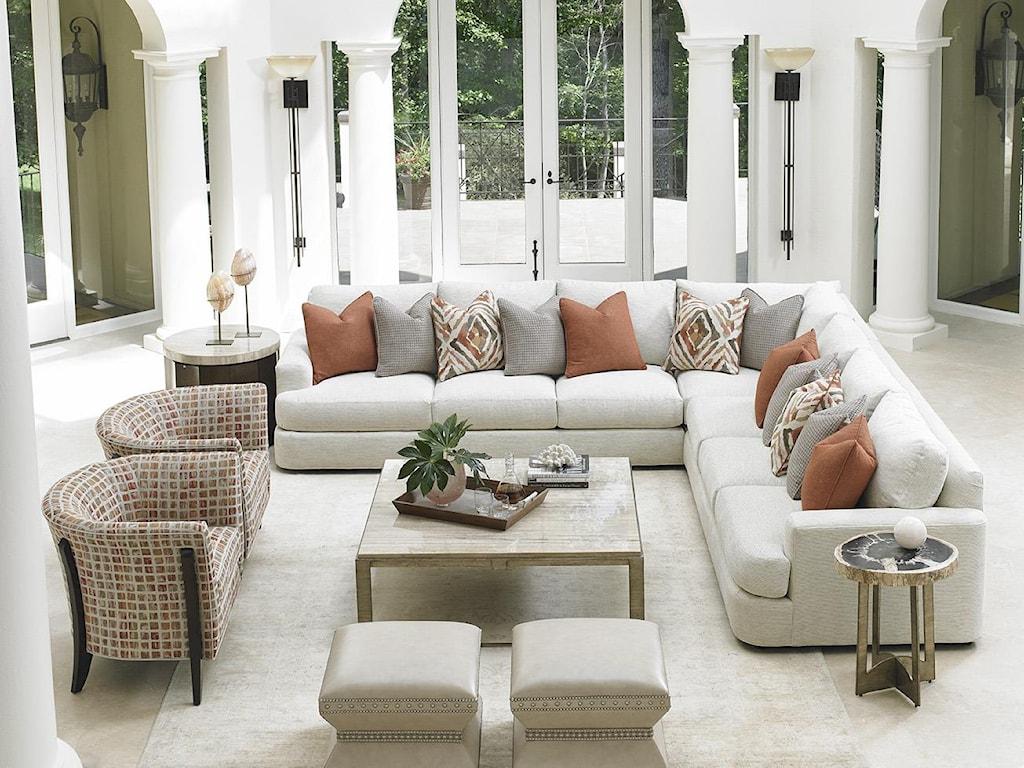 Lexington LAUREL CANYONHalandale Sectional Sofa