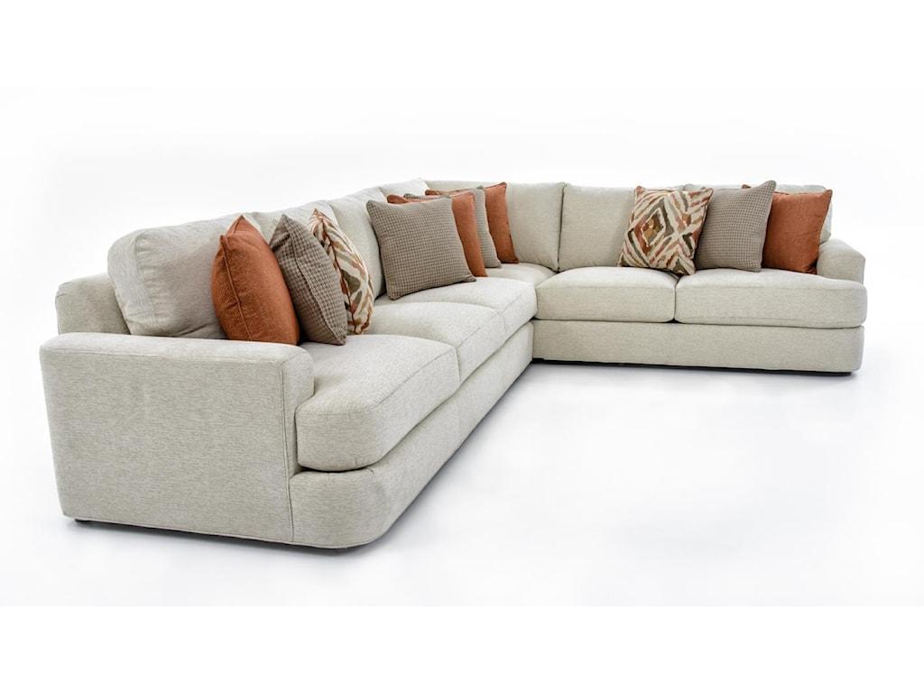 Lexington LAUREL CANYONHalandale Two Piece Sectional Sofa