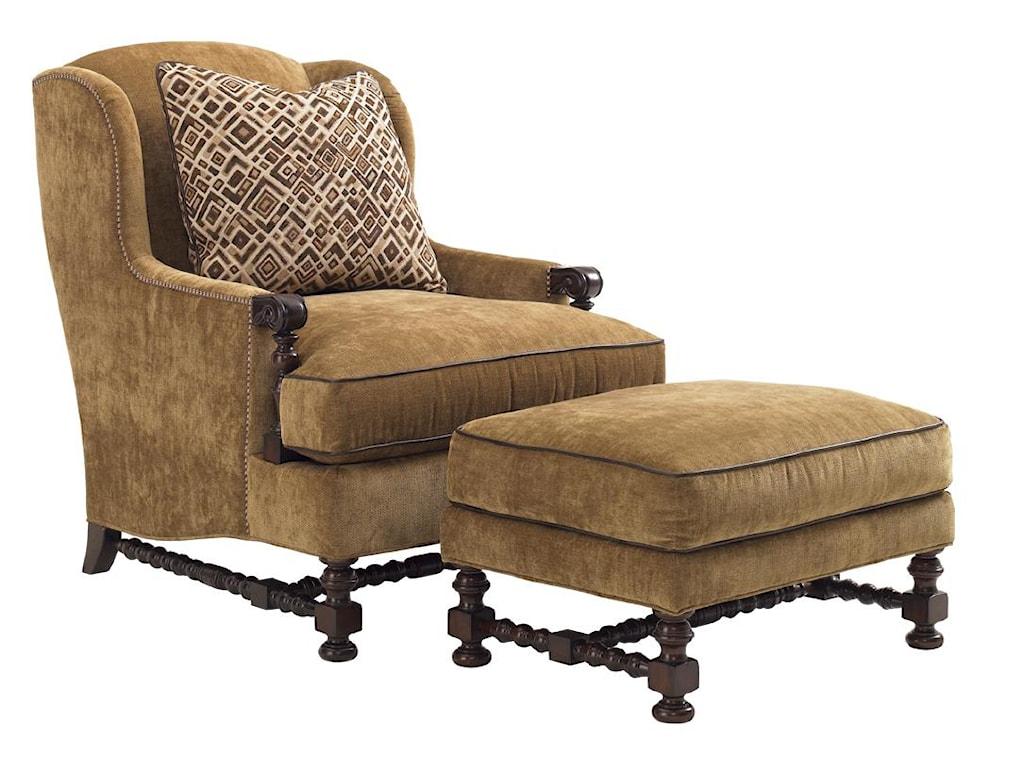 Lexington Lexington UpholsteryBradbury Chair and Ottoman