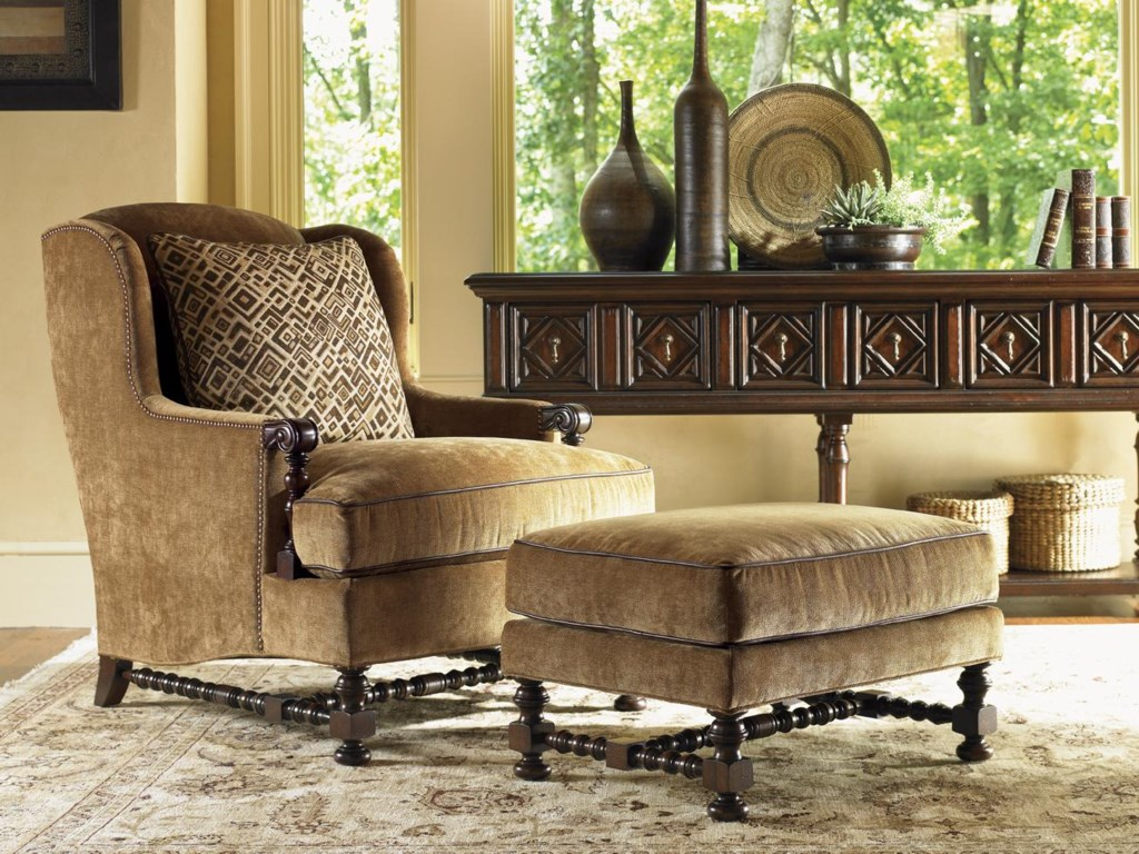 Lexington Lexington UpholsteryBradbury Ottoman