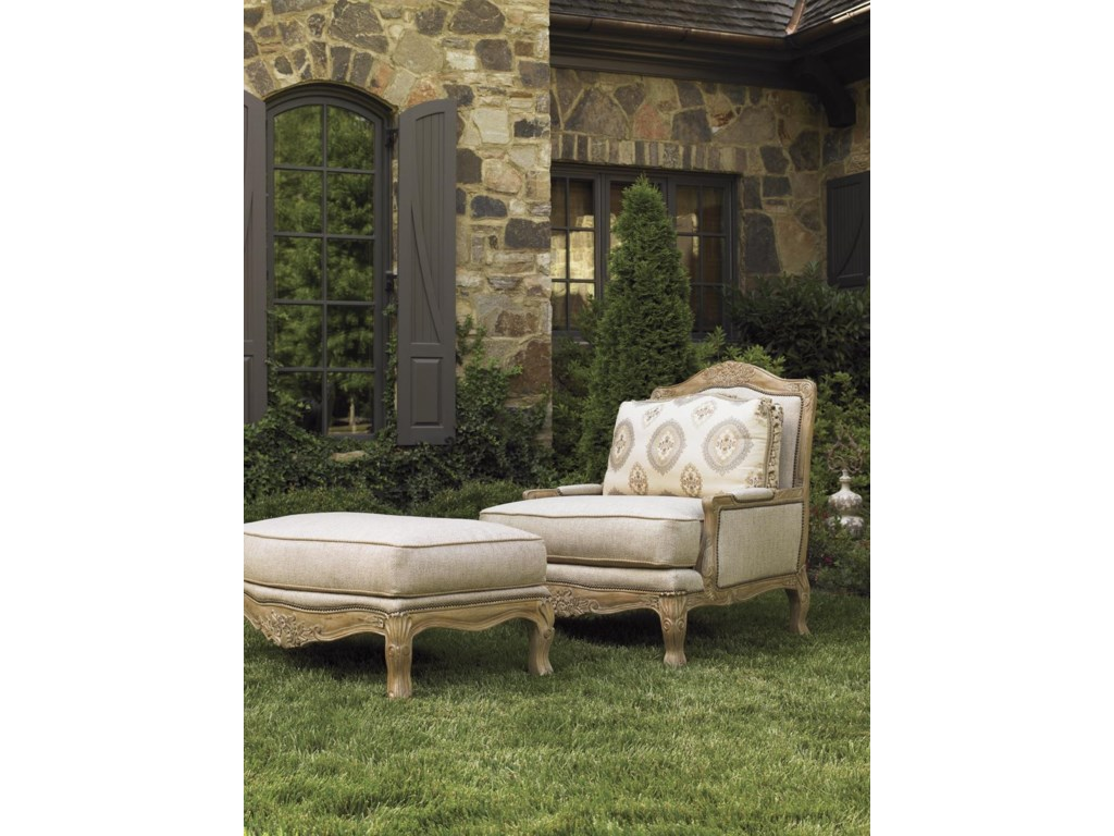 Lexington Lexington UpholsteryBeauvais Ottoman