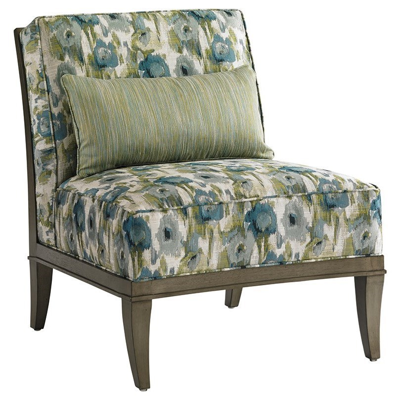 Bon Lexington Lexington UpholsteryMontaigne Armless Chair ...