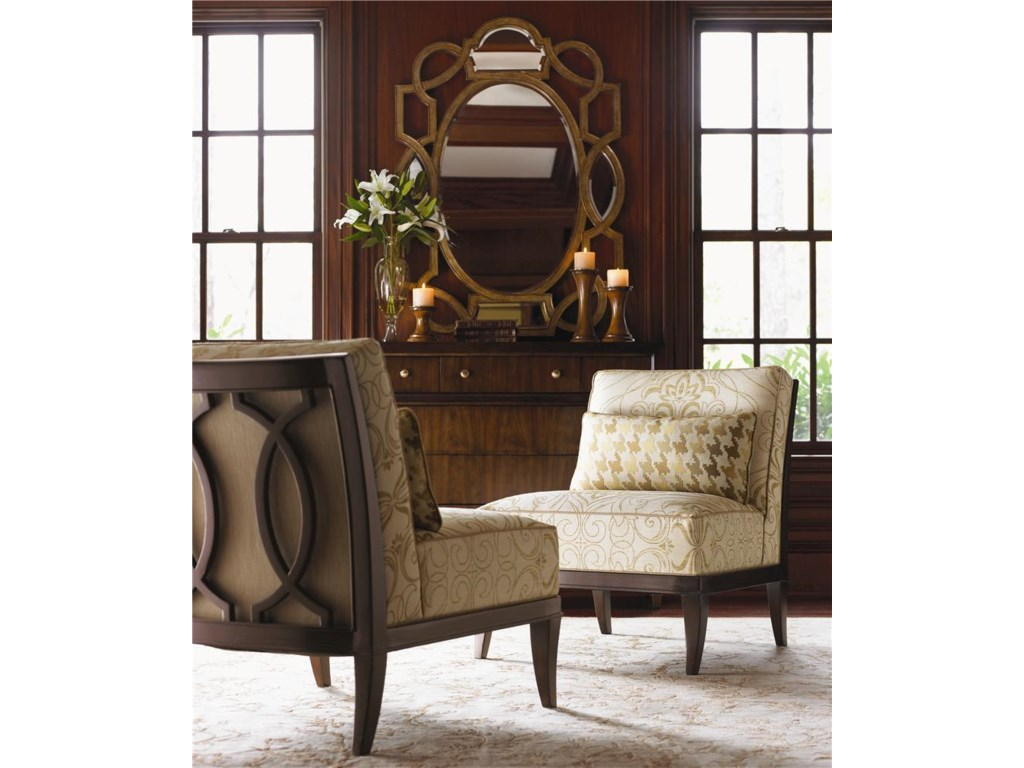 Lexington Lexington UpholsteryMontaigne Armless Chair