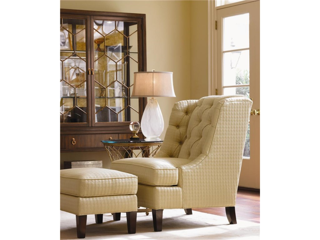 Lexington Lexington UpholsteryBelrose Chair and Ottoman