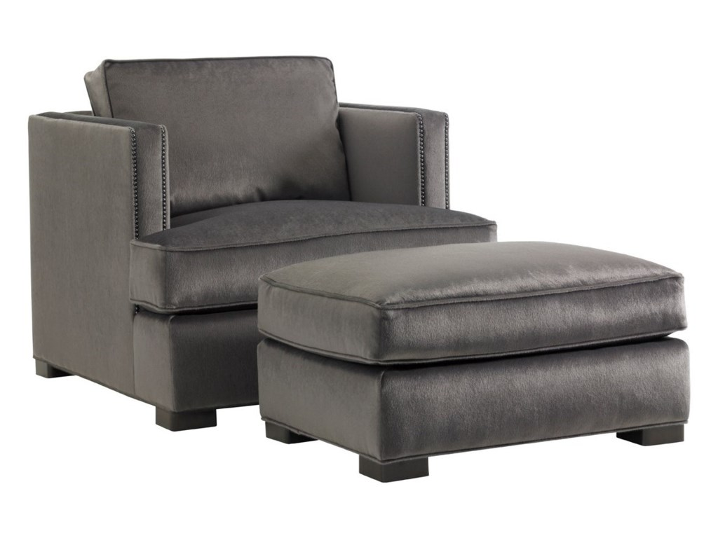 Lexington Lexington UpholsteryFillmore Chair and Ottoman