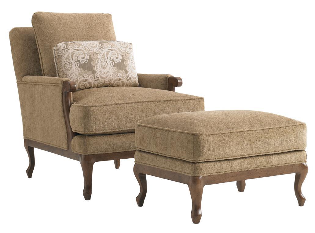Lexington Lexington UpholsteryKenton Chair U0026 Ottoman ...