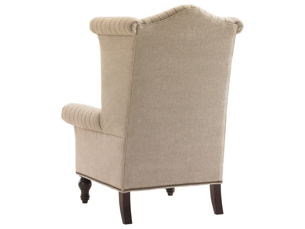 Lexington Lexington UpholsteryCustomizable Kings Row Wing Chair