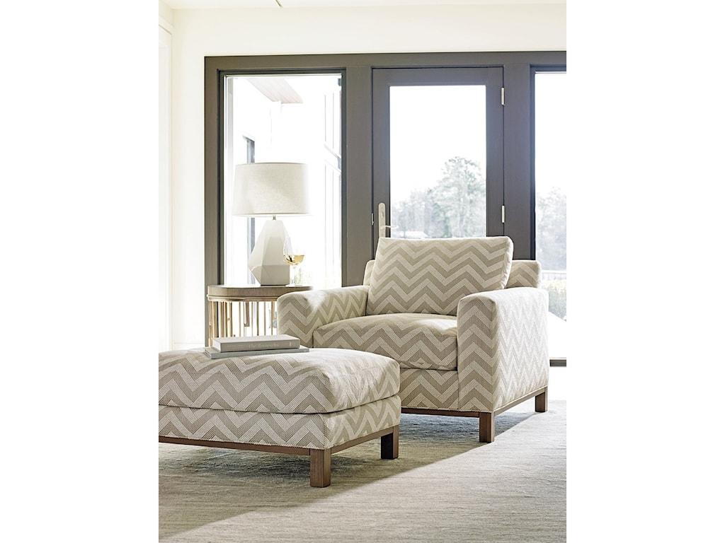 Lexington Lexington UpholsteryChronicle Chair & Ottoman