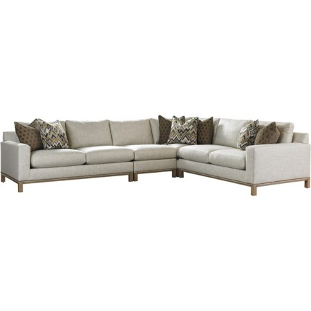 Chronicle 4 Pc Sectional Sofa