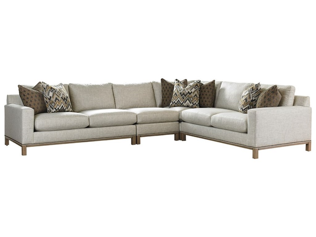 Lexington Upholsterychronicle 4 Pc Sectional Sofa