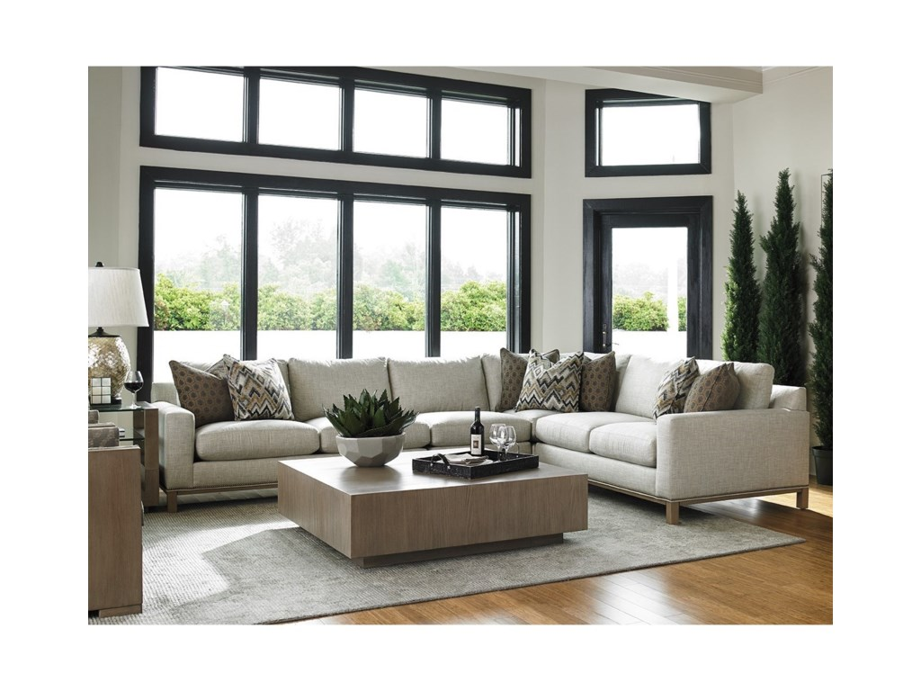 Lexington Lexington UpholsteryChronicle 4 Pc Sectional Sofa