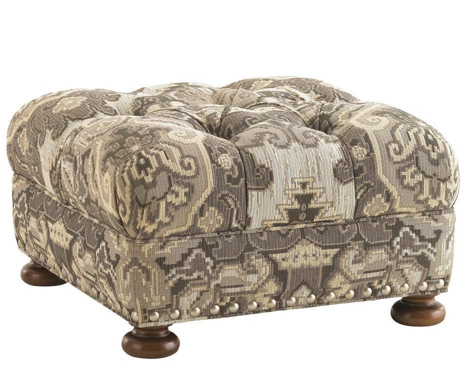Elle Upholstered Ottoman withTufted Top