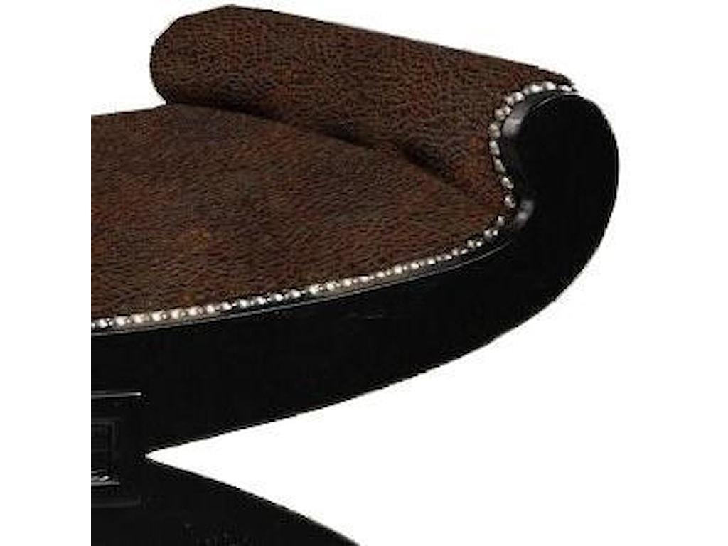 Lexington Lexington LeatherCustomizable Macaulay Leather Ottoman