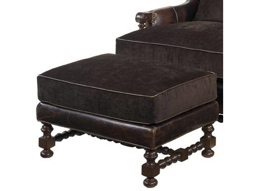 Lexington Lexington LeatherBradbury Ottoman
