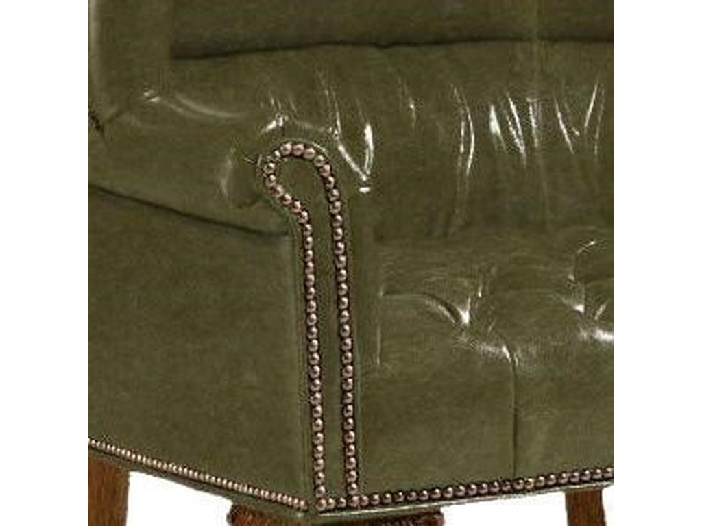 Lexington Lexington LeatherCustomizable Cardiff Leather Chair