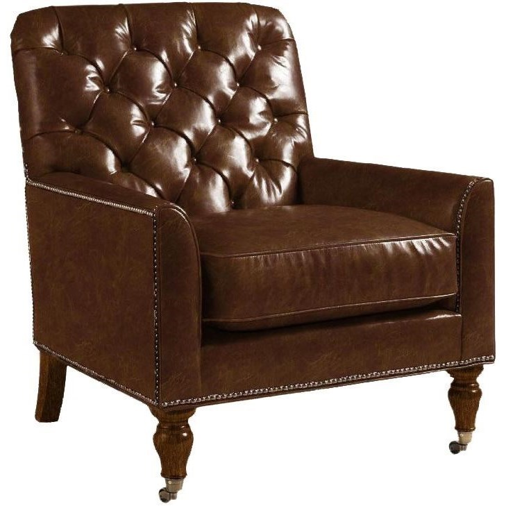 Lexington Lexington LeatherCustomizable Sandhurst Leather Chair