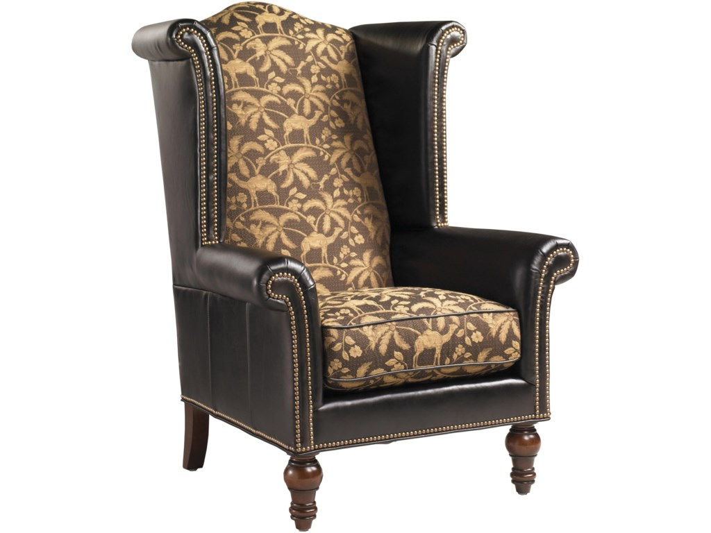 Lexington Lexington LeatherCustomizable Kings Row Leather Chair