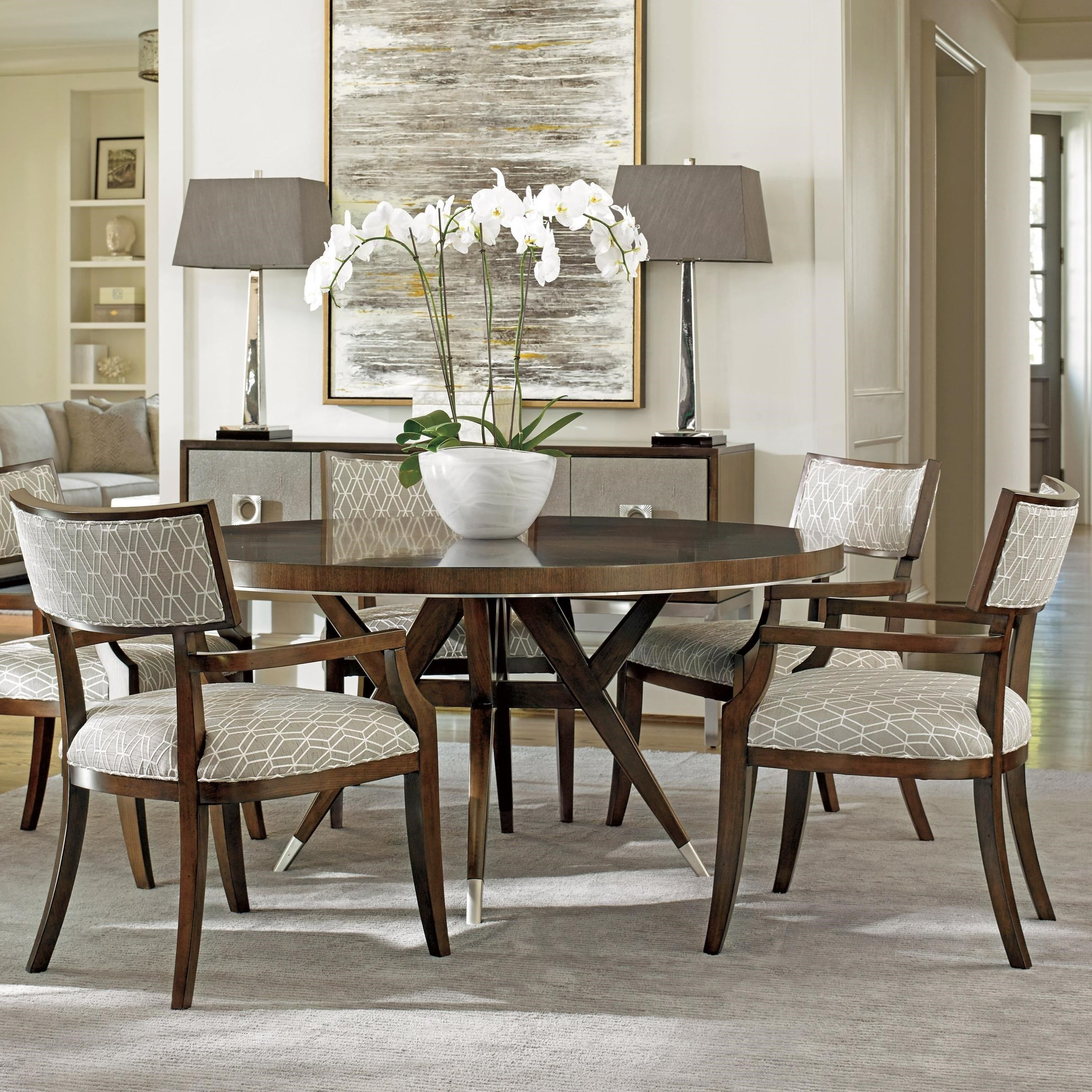 Merveilleux Lexington MacArthur Park Six Piece Dining Set With Strathmore Table And  Whittier Arm Chairs