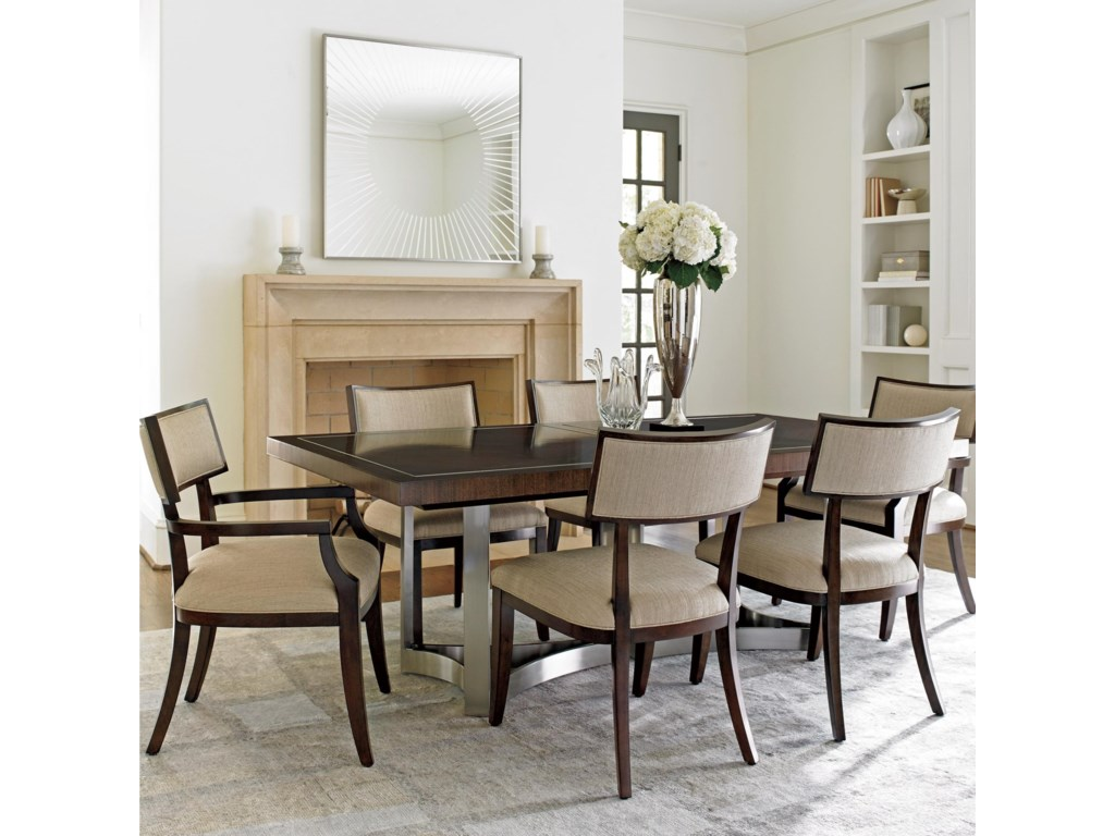 Lexington MacArthur Park7 Pc Beverly Place Dining Set