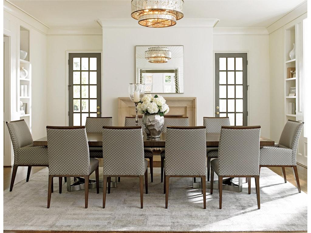 Lexington MacArthur Park11 Pc Beverly Place Dining Set