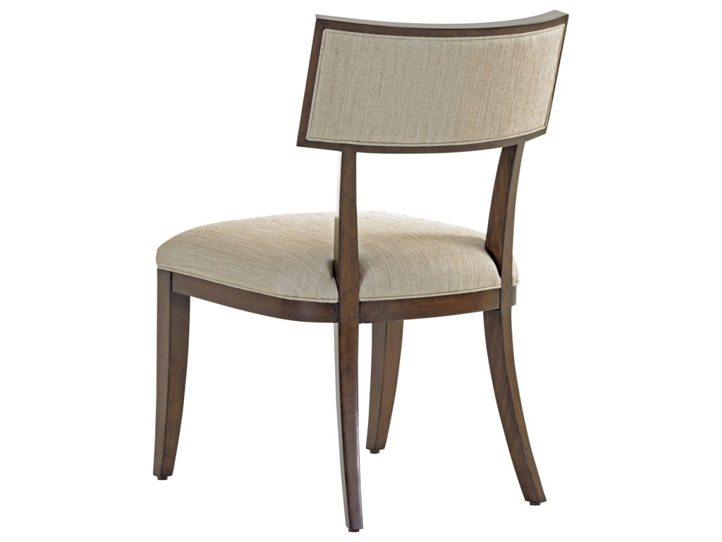 Lexington MacArthur ParkWhittier Side Chair in Wheat Fabric