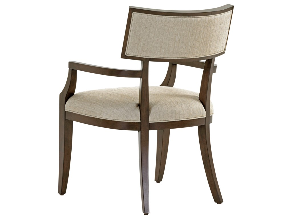 Lexington MacArthur ParkWhittier Arm Chair in Wheat Fabric