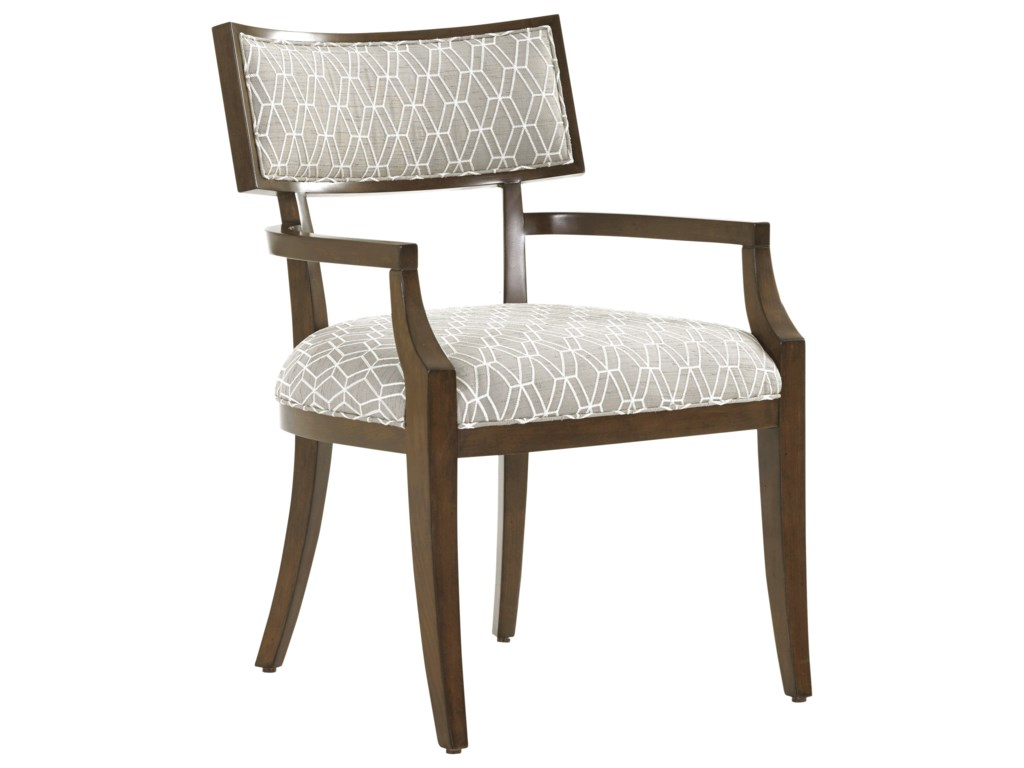 Lexington MacArthur ParkWhittier Arm Chair in Custom Fabric