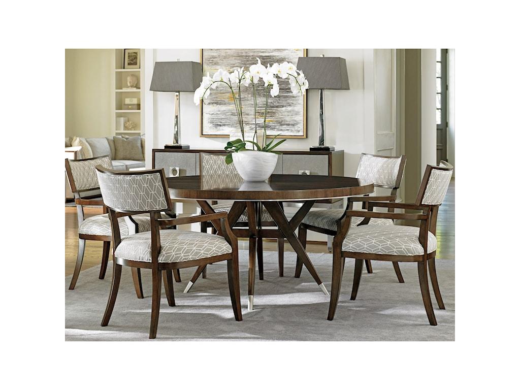 Lexington MacArthur ParkWhittier Arm Chair in Custom Fabric