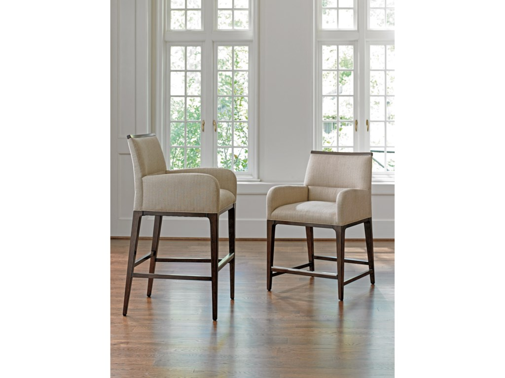 Lexington MacArthur ParkGetty Counter Stool in Wheat Fabric