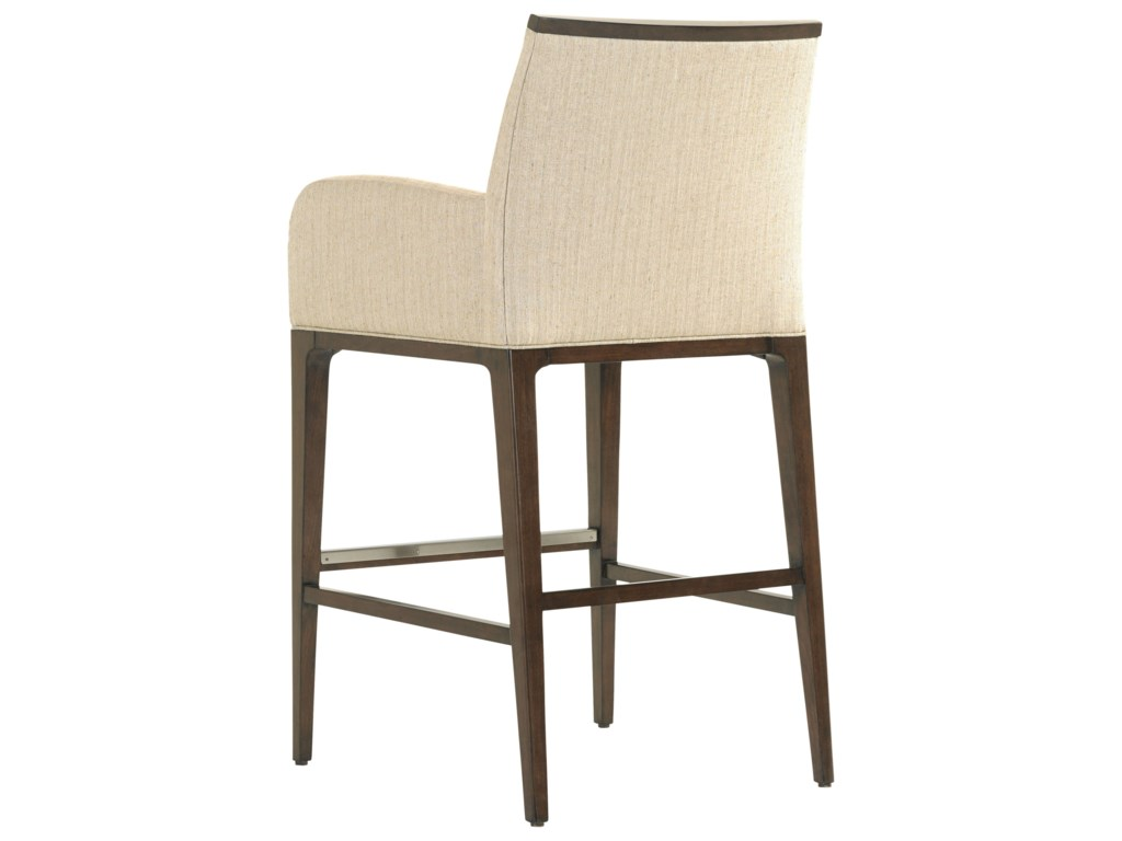 Lexington MacArthur ParkGetty Bar Stool in Wheat Fabric
