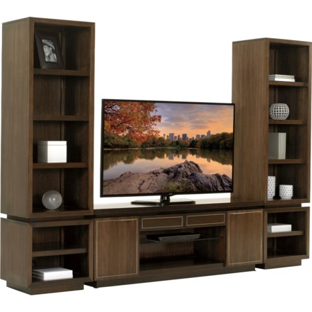 3 Pc Entertainment Wall Unit