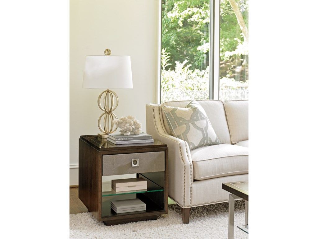 Lexington MacArthur ParkChenault Storage End Table