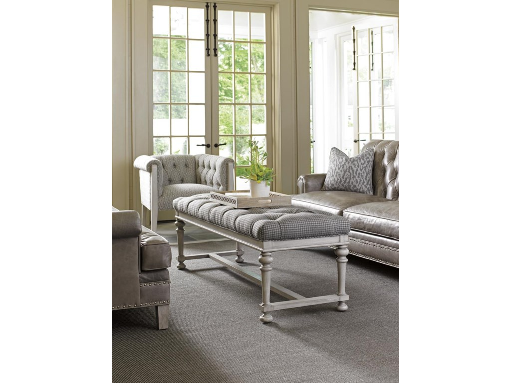 Lexington Oyster BayBellport Upholstered Bench
