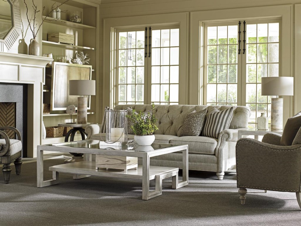 Lexington Oyster BayGreenport Sofa