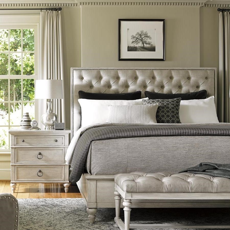 Lexington Oyster BaySAG HARBOR TUFTED UPHOLSTERED BED, QUEEN ...