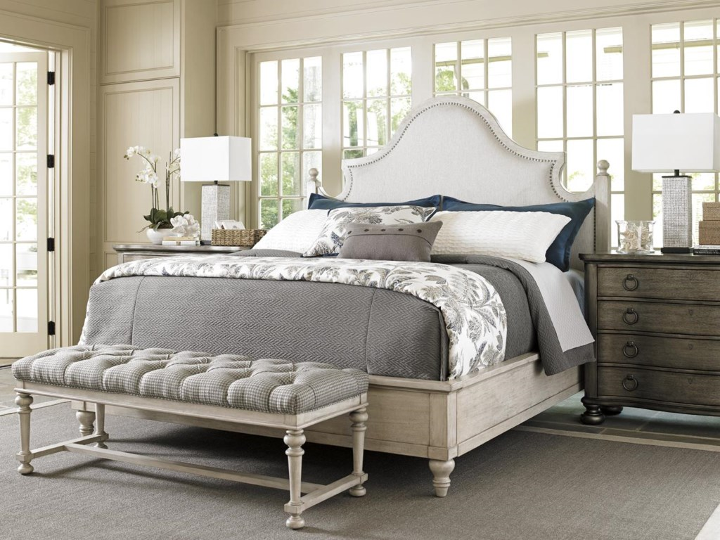 Lexington Oyster BayARBOR HILLS UPHOLSTERED BED, QUEEN