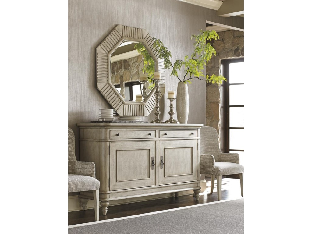 Lexington Oyster BaySELDEN OCTAGONAL MIRROR