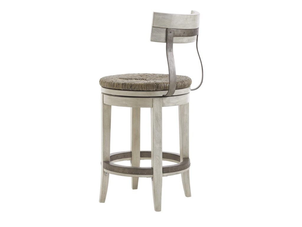 Lexington Oyster BayMERRICK SWIVEL COUNTER STOOL