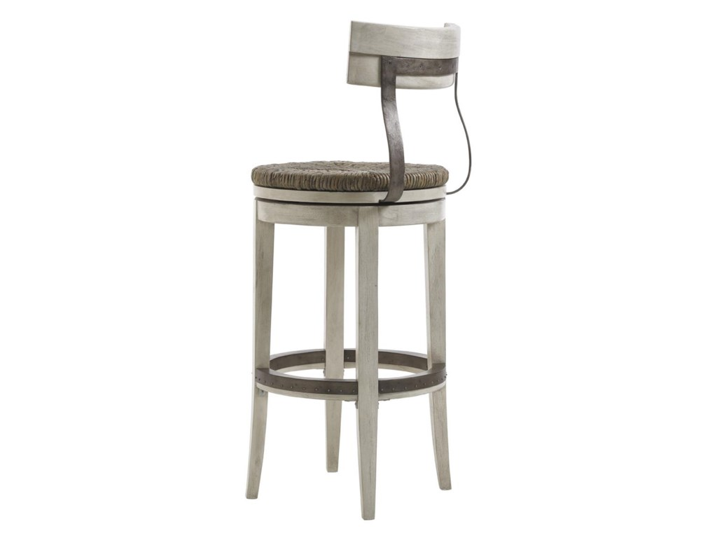 Lexington Oyster BayMERRICK SWIVEL BAR STOOL