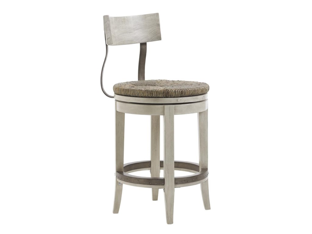 Lexington Oyster Bay Hidden Lake Bistro Table and Merrick Swivel ...